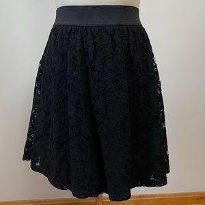Forever 21 3x Black lace skirt (Forever 21+)